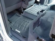 3rd row Floor Mats By Wade Black 2007 - 2010 GMC Yukon XL / Yukon XL Denali
