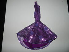 Eaki Sequin Doll Dress Gown Integrity Fashion Royalty Purple