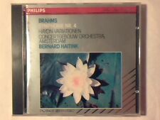 BERNARD HAITINK Brahms: Symphonie n. 4 Haydn: variationen cd PHILIPS LIKE NEW!!!