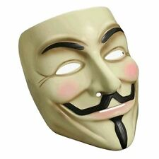V per Vendetta Guy Fawkes Anonymous Costume Halloween Maschera