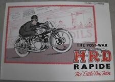 HRD Vincent H.R.D. Rapido BIG TWIN 1945 analizzò Engl.
