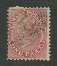 """CANADA #14 USED 4-RING NUMERAL CANCEL """"10"""""""