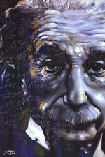 ALBERT EINSTEIN - ITS ALL RELATIVE POSTER - 24 x 36 FISHWICK ART 1100