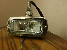 Land Rover Series Classic Car Stainless Steel & Glass Period Reverse Light