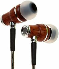 Symphonized NRG 2.0 Genuine Wood In-ear Noise-isolating Headphones (Gunmetal)
