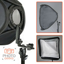 Portable Universal Fit Hotshoe Softbox - Speedlight Speedlite Flash 60 Hot Shoe