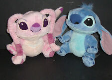 Lot - ANGEL AND STITCH STUFFED Plush ALIEN PINK GIRLFRIEND DISNEY PARKS - VGC