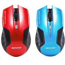Optical Game Wireless Mouse Mice For Computer PC Laptop XP/VISTA/WIN New#