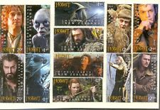 New Zealand-The Hobbit parts I and II mnh - Tolkien-2 sets