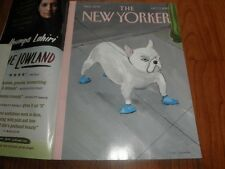 "NEW YORKER MAGAZINE_""Blue Dog""-Near Mint-No Label-Oct.7,2013"