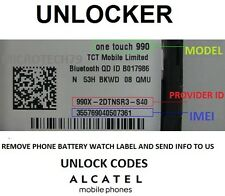 Unlock Code VFD-200  Vodafone Smart First 7   AND MORE