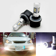 2* 50W 880 885 893 High Power Super White 12V CREE LED Fog Lights Driving Bulbs