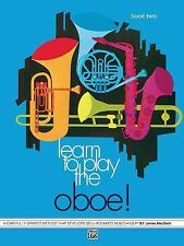 Learn to Play Oboe, Book 2, James MacBeth, New Books
