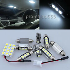 Premium LED Interior 16 SMD DOME Bulbs White Error Free FIT Audi A4 B8 8K Avant