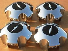 Ford Lightning Chrome Center Caps F150 SVT Expedition style wheel hubcaps 4 NEW