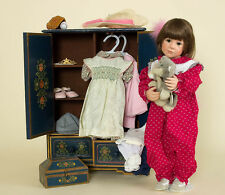 Play With Me ltd ed vinyl Julie Good-Kruger Doll with Armoir, Wood Chest, Clothi