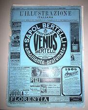 L'ILLUSTRAZIONE ITALIANA # Settimanale - Anno XXXII - N.1 # 1 Gennaio 1905