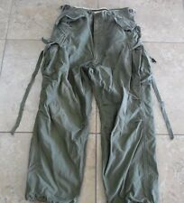 VTG US Army Military Korean War Era M-1951 Trousers/Pants Shell Field Med Reg
