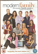MODERN FAMILY - Series 4. Ed O'Neill, Sofia Vergara (3xDVD SLIM BOX SET 2013)