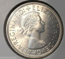 1960 Australian Silver 2/- TWO Shilling Florin QEII ( UNCIRCULATED)  (very Nice)