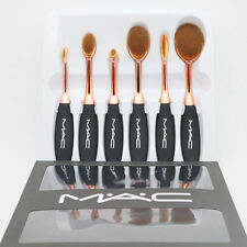 Mac makeup brush Toothbrush shape set 6pcs