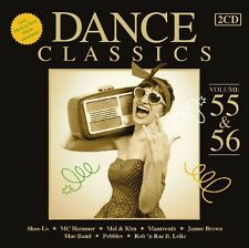 Dance Classics 55 & 56 2 CD NUOVO Cherrelle/Midnight Star/MC Hammer/+