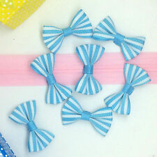 15pcs blue Handmade Butterfly bow tie with children's clothing accessories-1