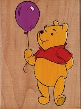 Motivstempel Winnie Pooh Balloon  der Bär All night media Pu der Bär © Disney