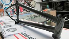 "FIT BMX 20"" bike FRAME BENNY L freestyle Fit 20.75"" TT 5.3LB BLACK bomb'ed new"