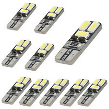 10x LED White T10 168 194 W5W Wedge 6-SMD 5730 Light bulb CANBUS Reliable