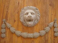 Estuco 4 piezas Fachada-joyería León -Lorbeer Feston de Hormigón para Exterior
