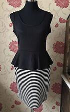 Jane Norman Peplum Dress Size 14