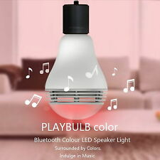 PLAYBULB color Smart LED Light Bulb Moble APP Controlled with Blurtooth Speaker