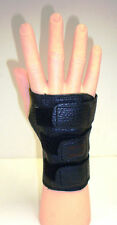 Small Medium Large BLACK Bowlers Bowling Wrister Wrist Support  LEFT HAND Glove