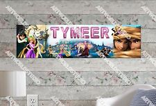Personalized/Customized Princess Rapunzel Name Poster Wall Art Decoration Banner
