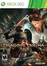 XBOX 360 RPG GAME DRAGON'S DOGMA BRAND NEW & FACTORY SEALED
