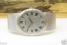 .VINTAGE PIAGET LADIES 18K WHITE GOLD MANUAL WIND WRIST WATCH