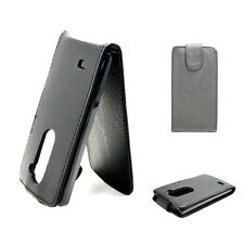 Vertical Flip Leather Hard Case Cover Pouch Fits For LG Leon C40 H320 H326 H340