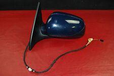 Porsche 955 Cayenne Left Driver Side Mirror Dark Blue 11+2 Wires w/ Puddle Lamp