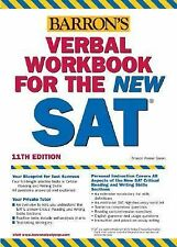 Verbal Workbook for the NEW SAT (Barron's Verbal Workbook for Sat I)-ExLibrary