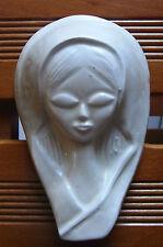 Vintage (Italy?) design ceramic relief plaque 1960s placca ceramica