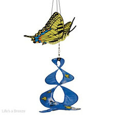 Butterfly, Swallowtail Theme Duet. Hang In A Garden. 2D Graphic