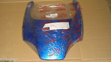 New Genuine Derbi Piaggio Aprilia Vespa Rear Basket Holder Blue 00G01402063