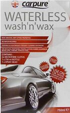 Carpure Bees Knees Waterless Wash & Wax (750ml) Car Cleaning Kit Airpure