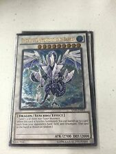 YUGIOH TRISHULA DRAGON OF THE ICE BARRIER AP08-EN001 ASTRAL PACK ULTIMATE RARE