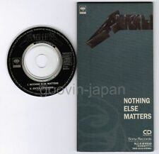 "METALLICA Nothing Else Matters /Enter Sandman JAPAN 3"" CD SRDS8225 Ex/Ex Free SH"