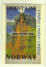 ad2182 - Orient Line Cruises to Norway - modern poster advert postcard