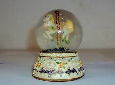 Carrousel Horse Miniature Snow Water Globe w/Glitter Snow Globe, Decoration