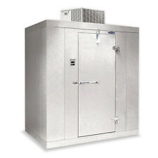 """Norlake Nor-Lake Walk In Cooler 6' x 6' x 6'7""""H KLB66-C Self-Contained w/Floor"""
