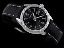 Casio LTP1302L-1AV Ladies 50M WR Black Analog Watch Leather Band Dress Date New